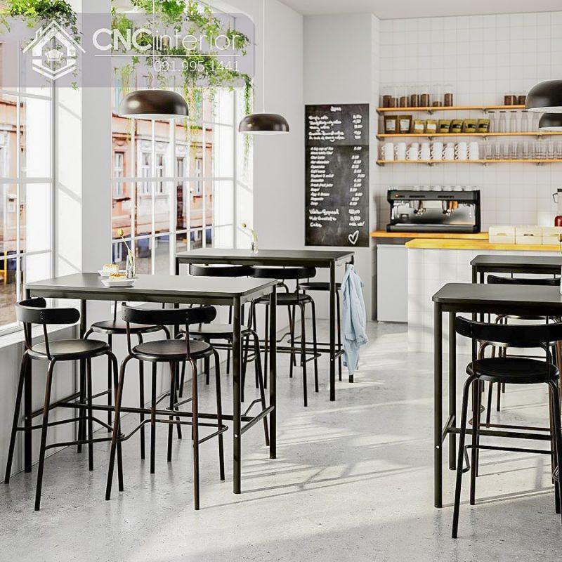 Bàn ghế cafe CNC 20