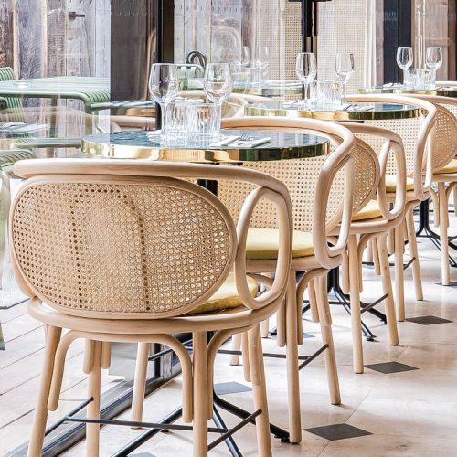 Bàn ghế cafe CNC 22