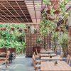 Bàn ghế cafe CNC 23