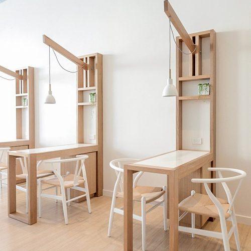 Bàn ghế cafe CNC 26