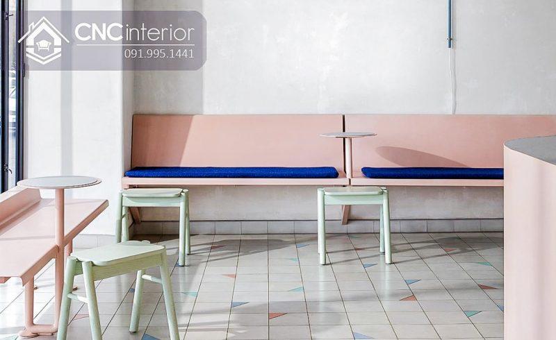 Bàn ghế cafe CNC 28