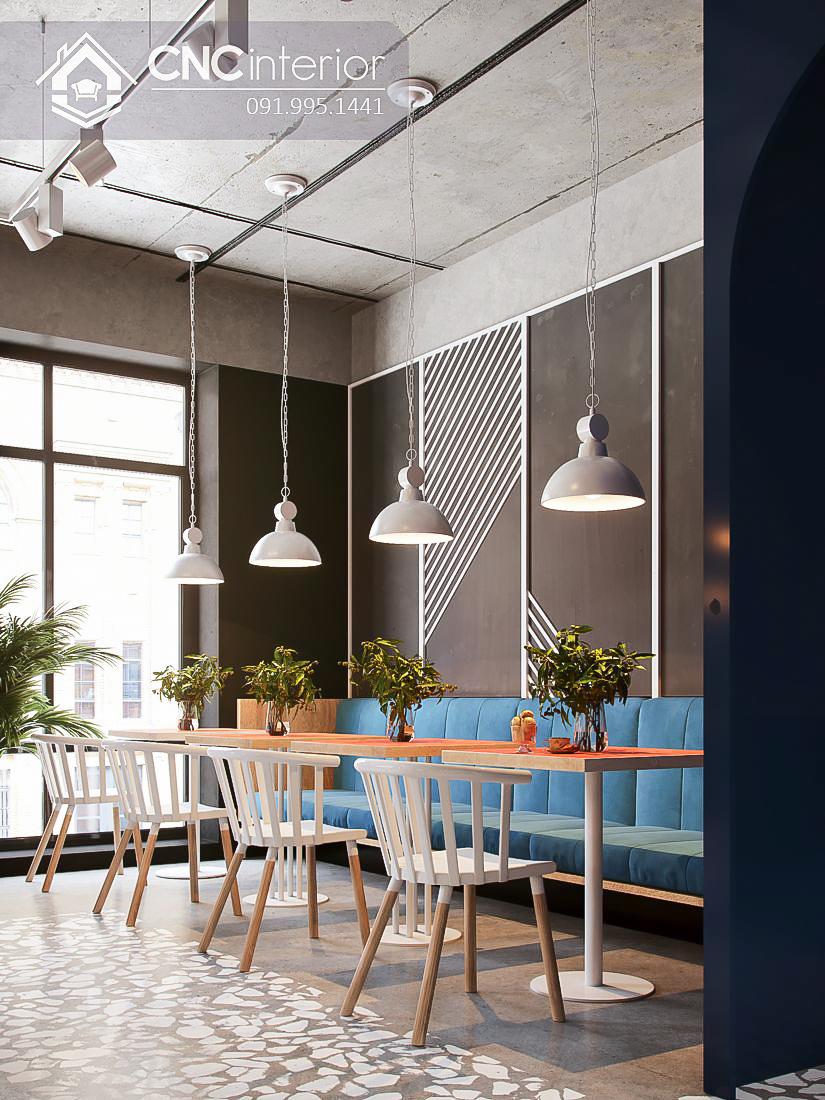 Bàn ghế cafe CNC 30