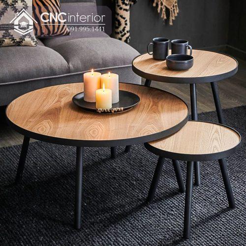 Bàn ghế cafe CNC 31
