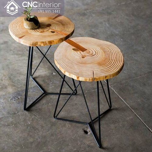 Bàn ghế cafe CNC 38