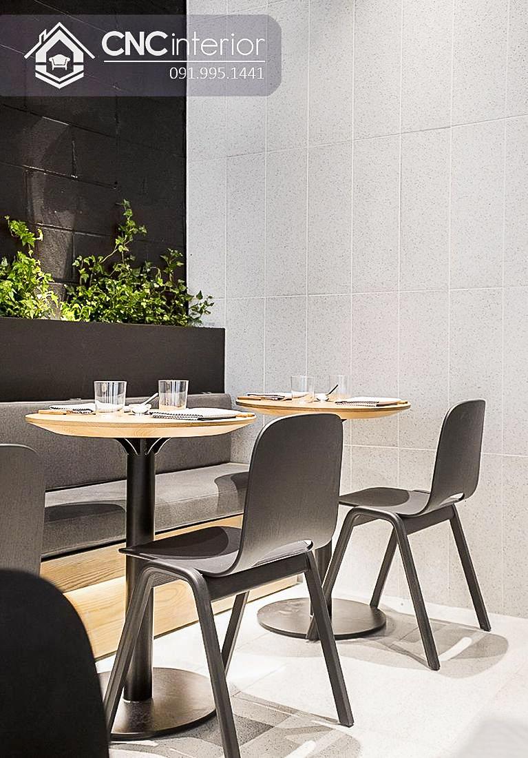 Bàn ghế cafe CNC 04