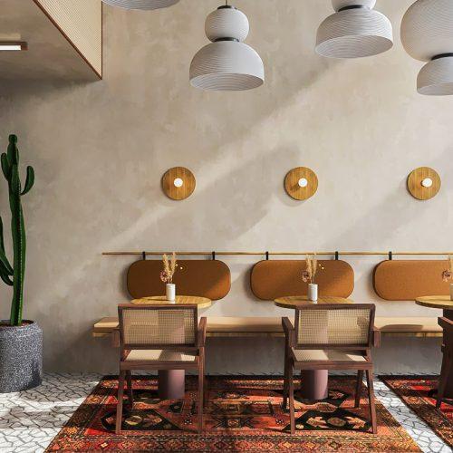 Bàn ghế cafe CNC 42