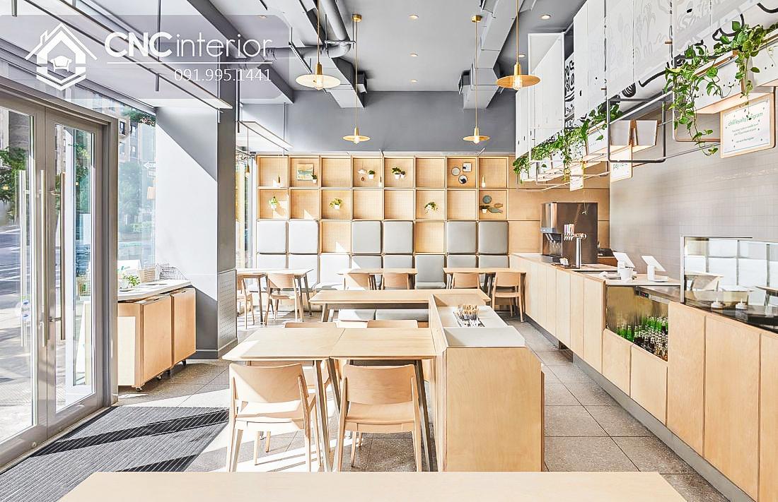 Bàn ghế cafe CNC 43