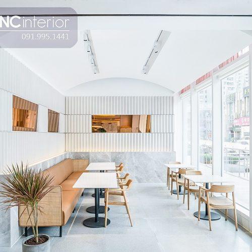 Bàn ghế cafe CNC 44