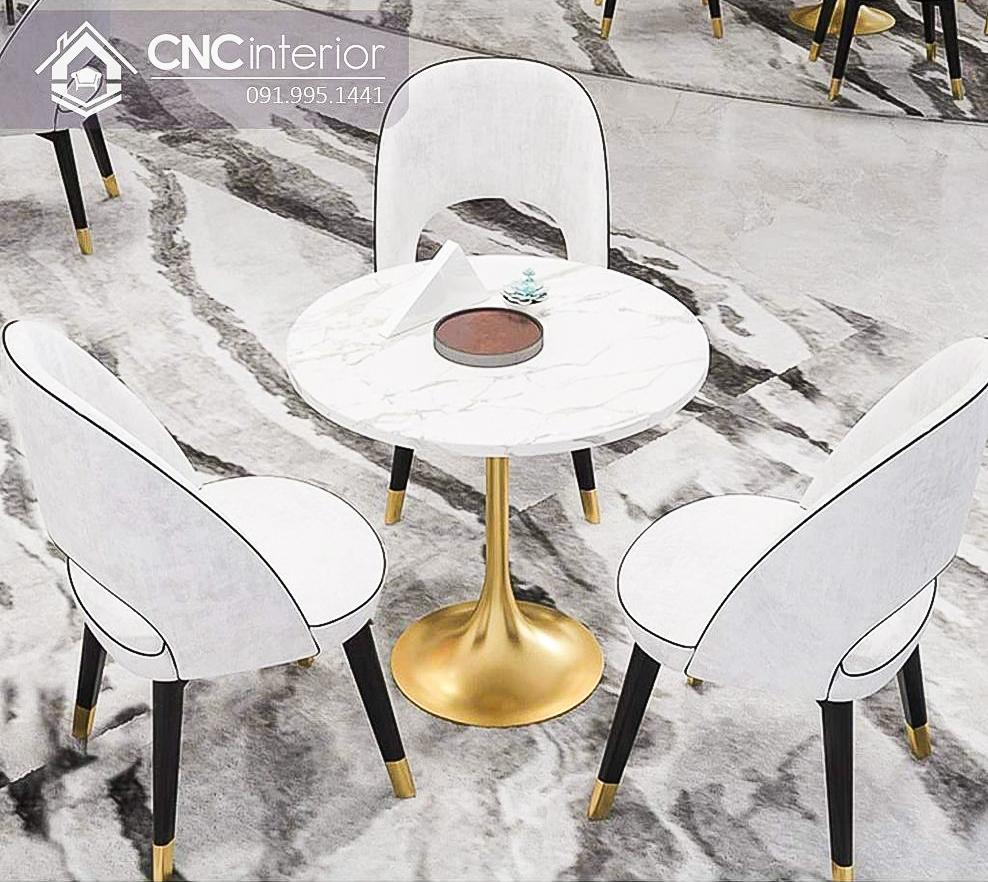 Bàn ghế cafe CNC 50
