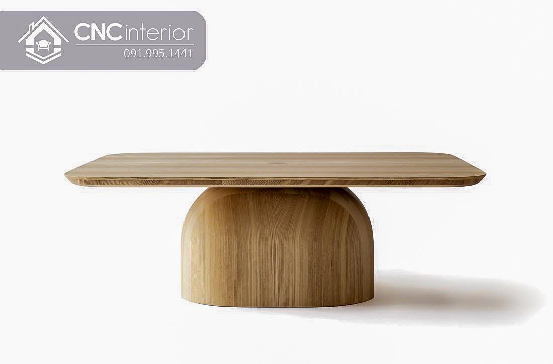 Bàn ghế cafe gỗ Sồi CNC 52 2