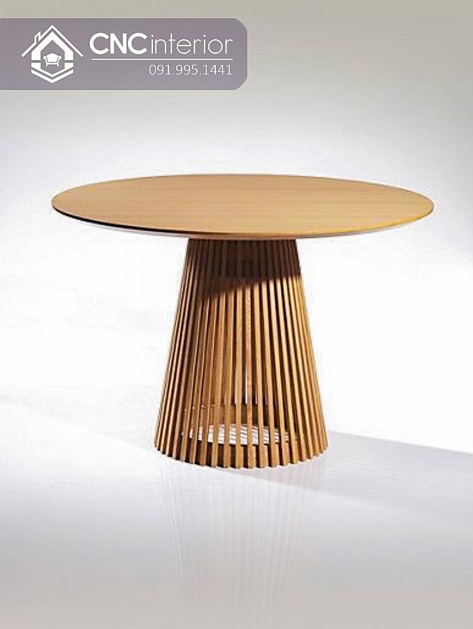 Bàn ghế cafe CNC 53