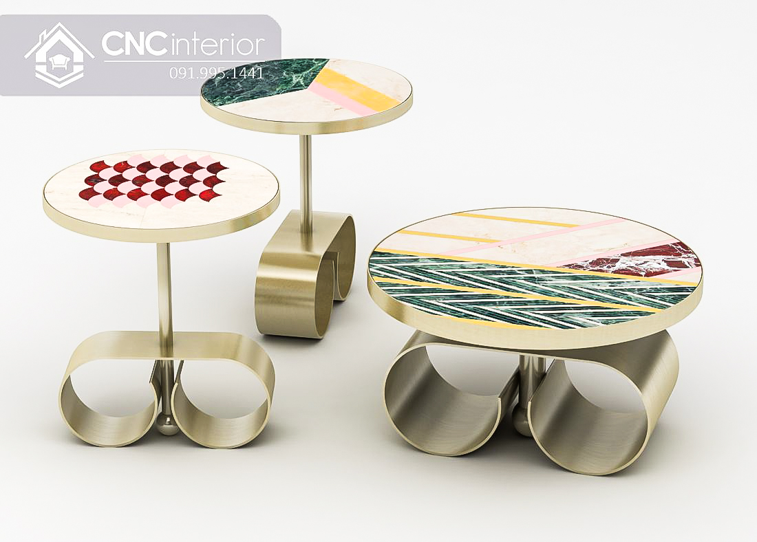 Bàn ghế cafe CNC 54