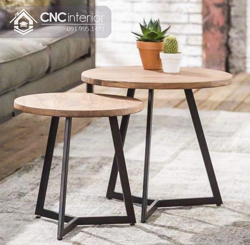 Bàn ghế cafe CNC 55