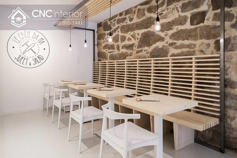Bàn ghế cafe CNC 06