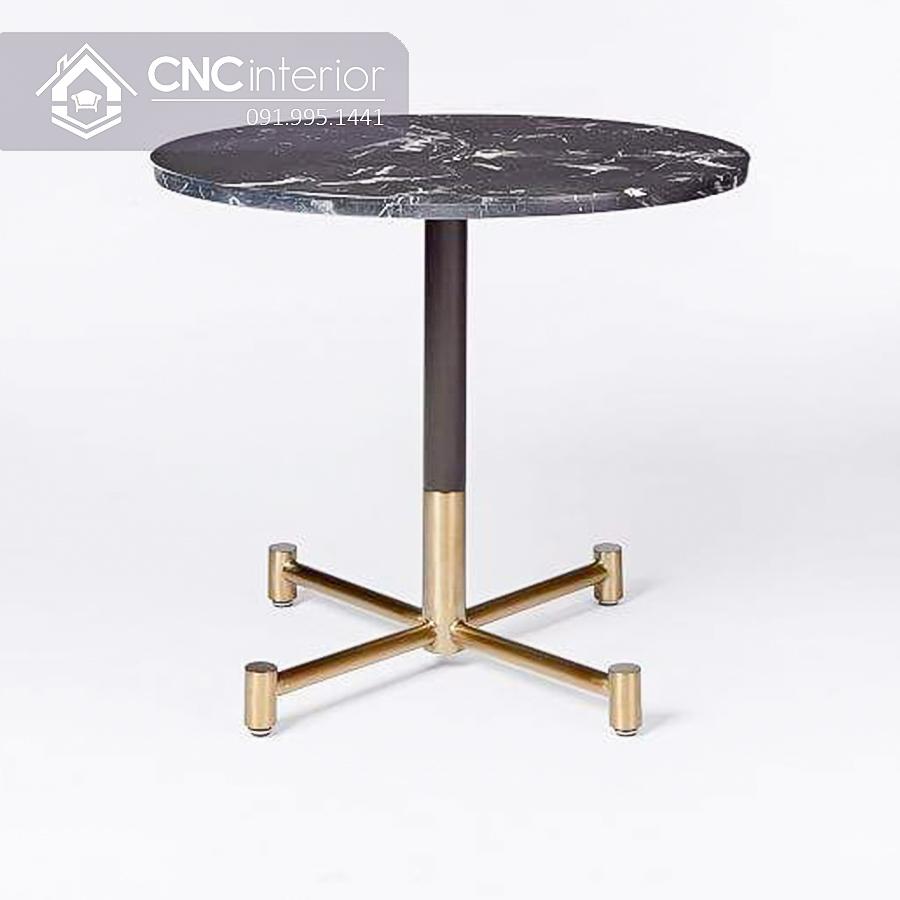 Bàn ghế cafe hiện đại CNC 65 1