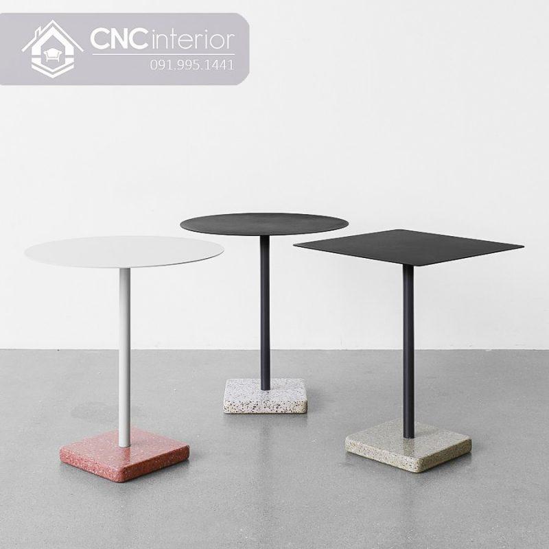 Bàn ghế cafe CNC 66