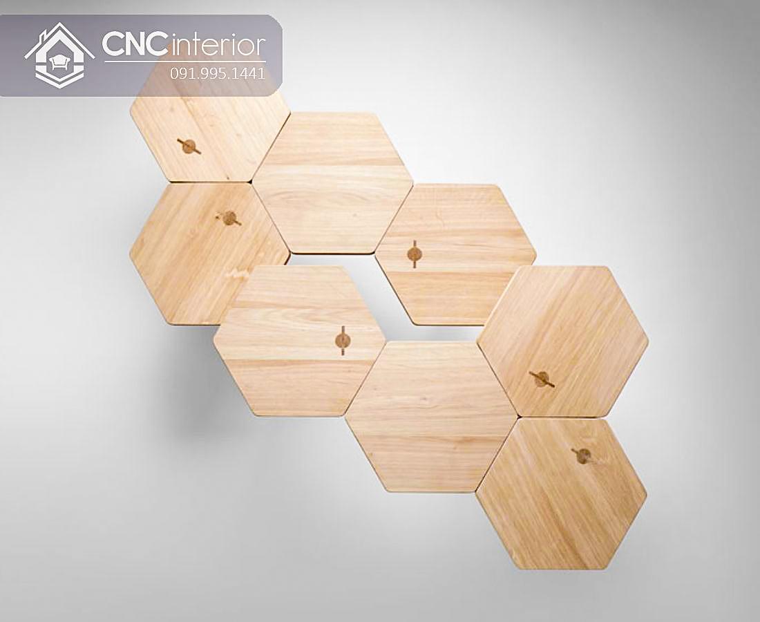 Bàn ghế cafe gỗ công nghiệp CNC 67 1