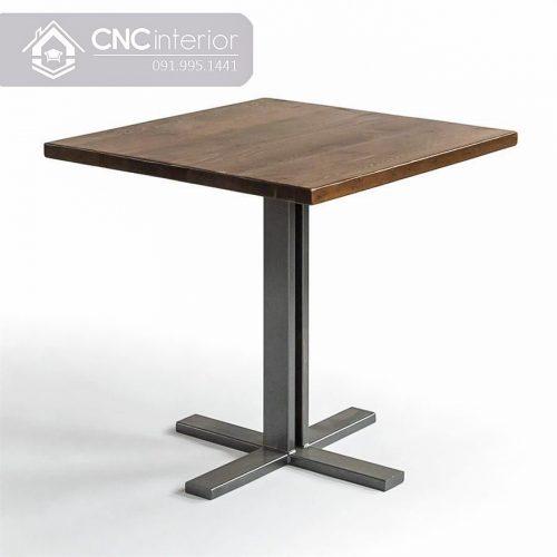 Bàn ghế cafe CNC 68