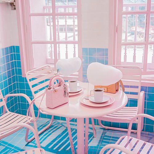 Bàn ghế cafe CNC 07
