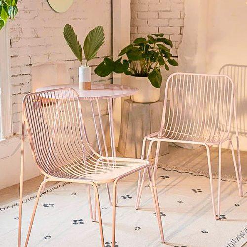Bàn ghế cafe CNC 09