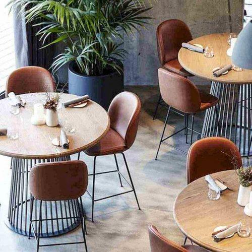 Bàn ghế nhà hàng cnc 38