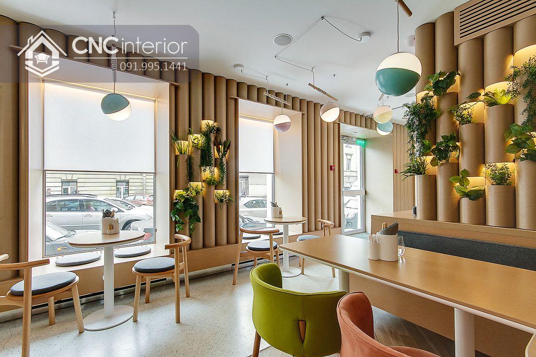 Bàn ghế nhà hàng phong cách đương đại CNC 39 1