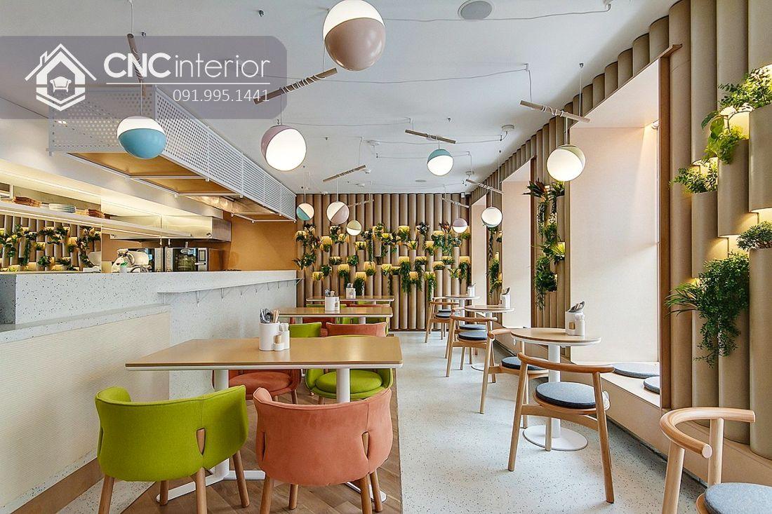 Bàn ghế nhà hàng phong cách đương đại CNC 39 2