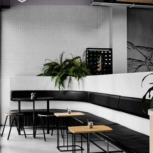 Bàn ghế nhà hàng cnc 05