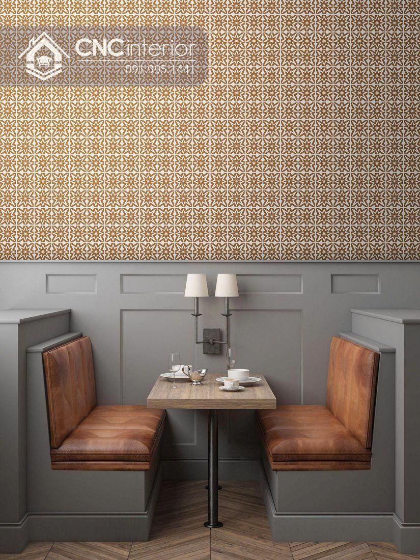 Bàn ghế nhà hàng tân cổ điển sang trọng CNC 14