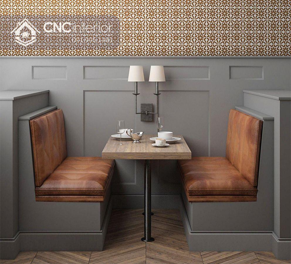 Bàn ghế nhà hàng tân cổ điển sang trọng CNC 14 1