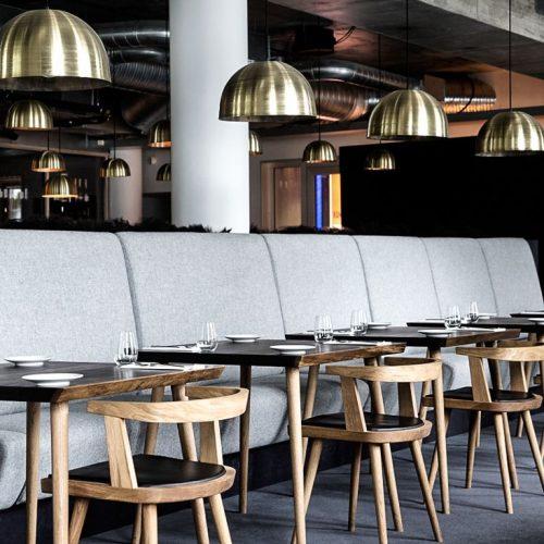 Bàn ghế nhà hàng cnc 19