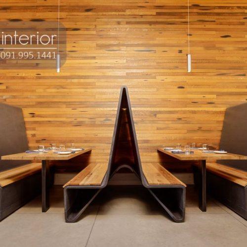 Bàn ghế nhà hàng cnc 27