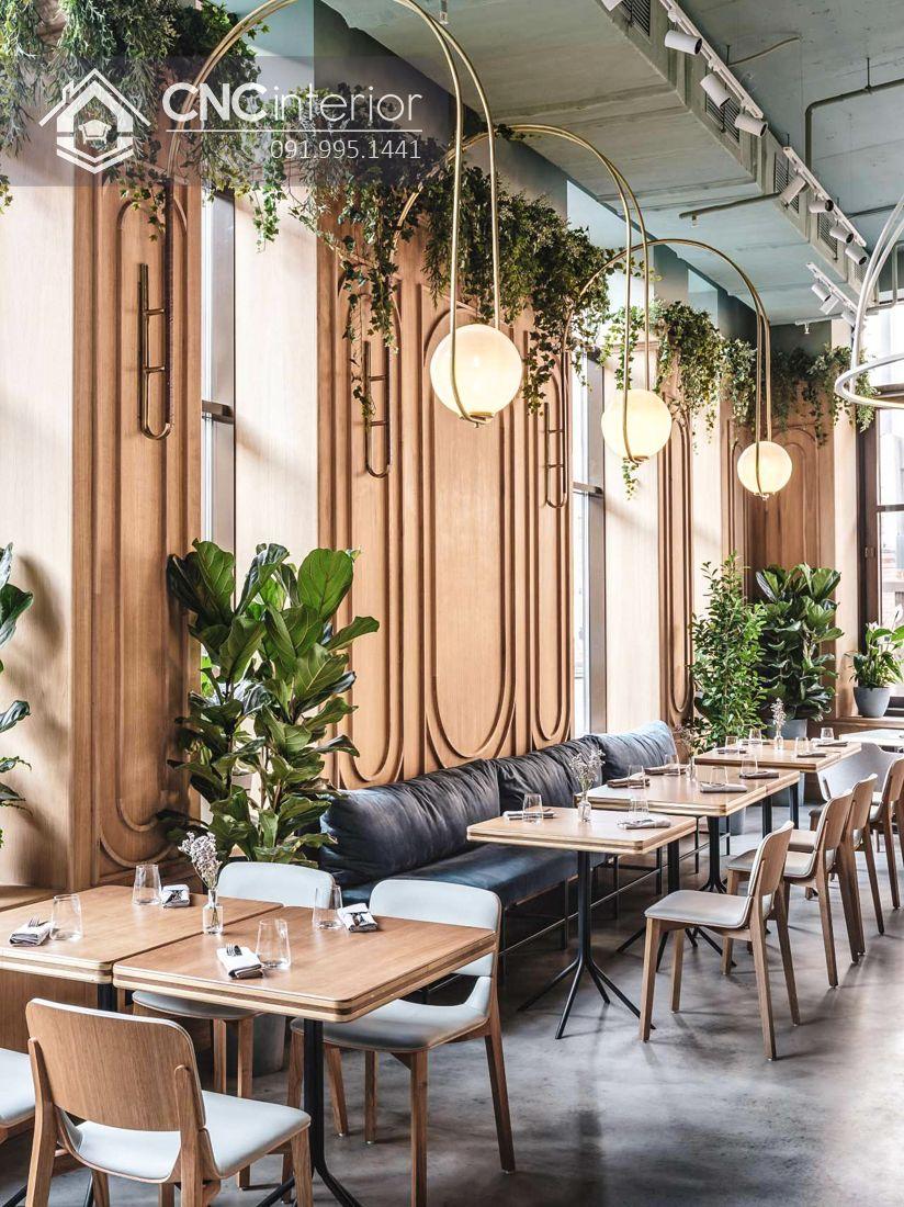 Bàn ghế nhà hàng sang trọng bằng gỗ đẹp CNC 28 2