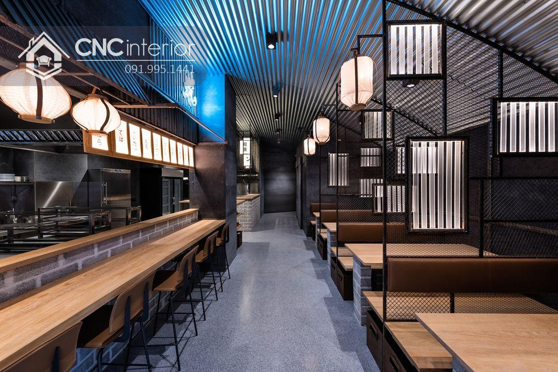 Bàn ghế nhà hàng đơn giản phá cách CNC 29