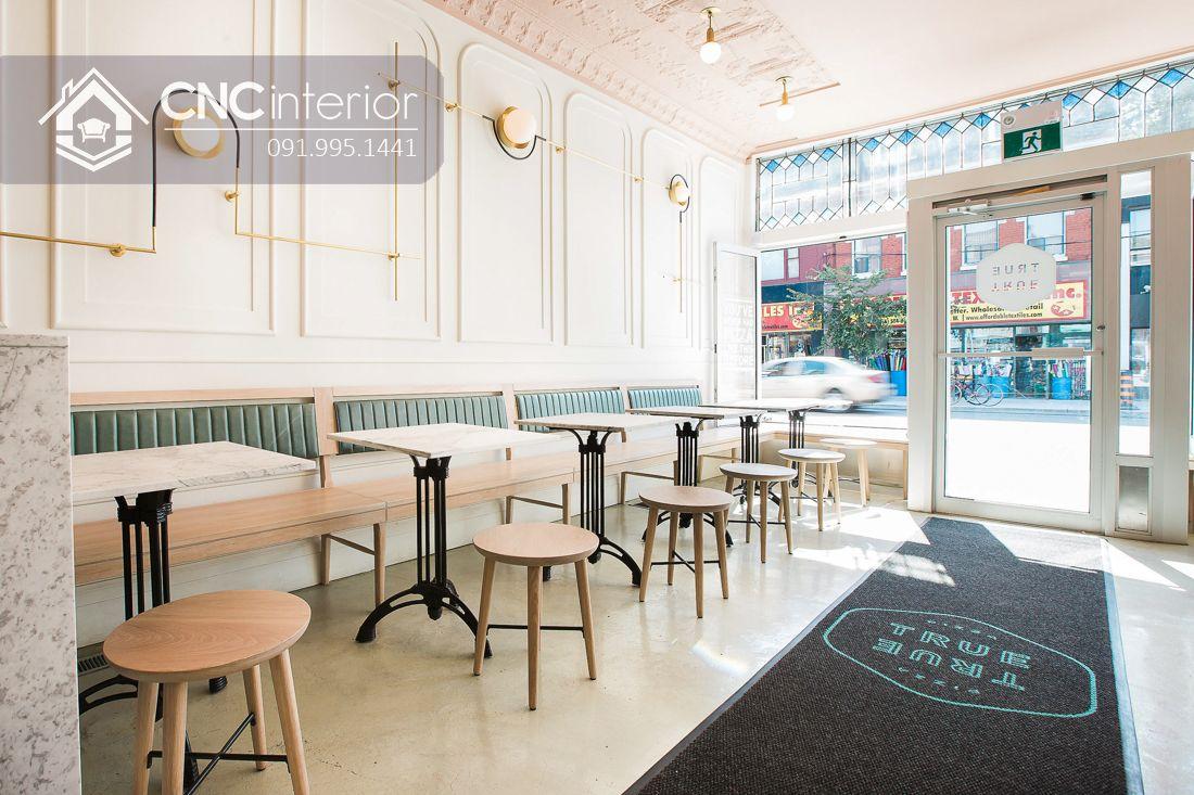 Mẫu bàn ghế nhà hàng đẹp trẻ trung CNC 31 1