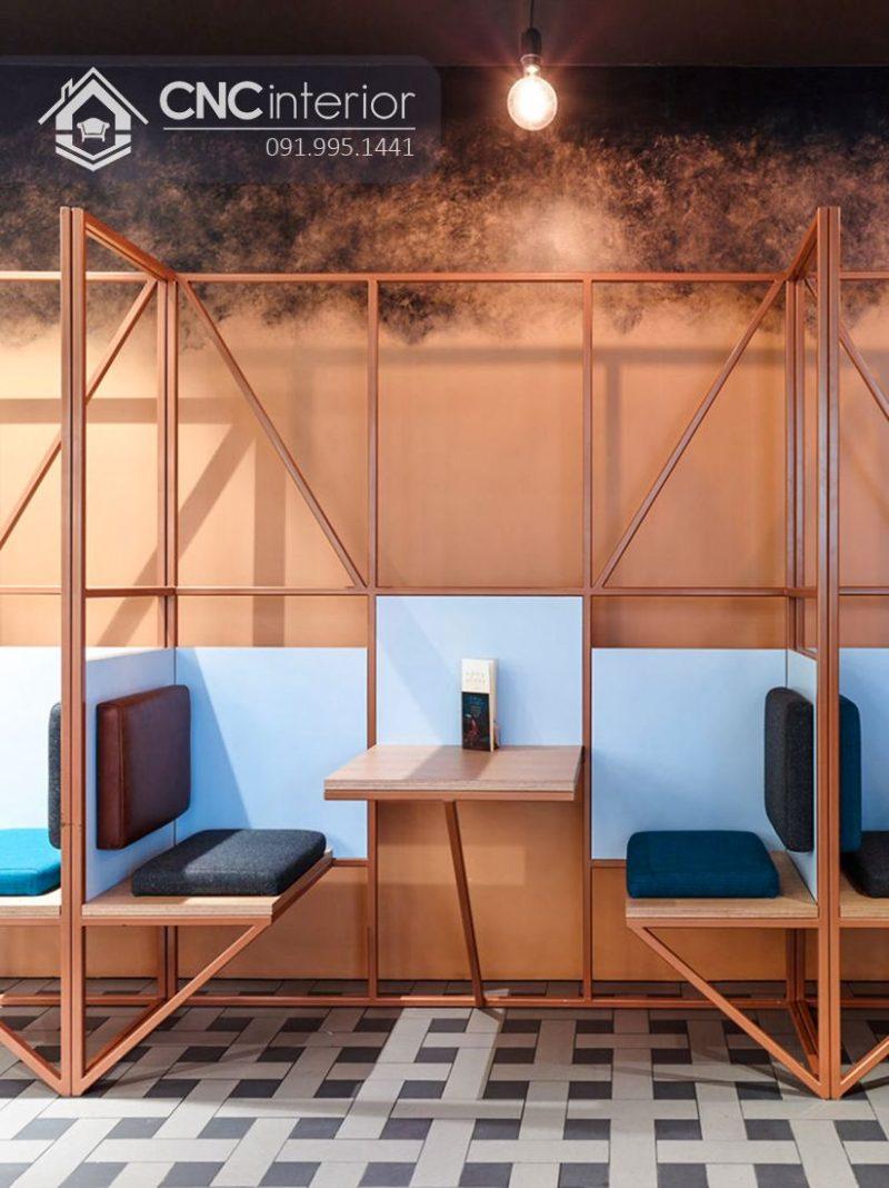 Bàn ghế nhà hàng cnc 33