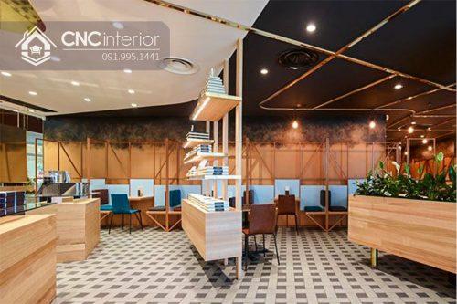 Bàn ghế nhà hàng cnc 33-2