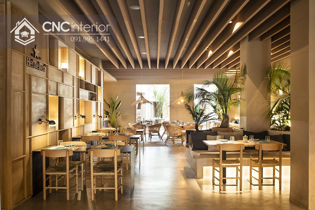 Bàn ghế nhà hàng mây đan CNC 35 3