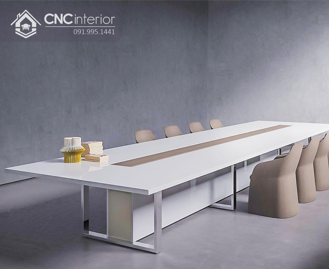 bàn họp lớn hiện đại sang trọng CNC 04