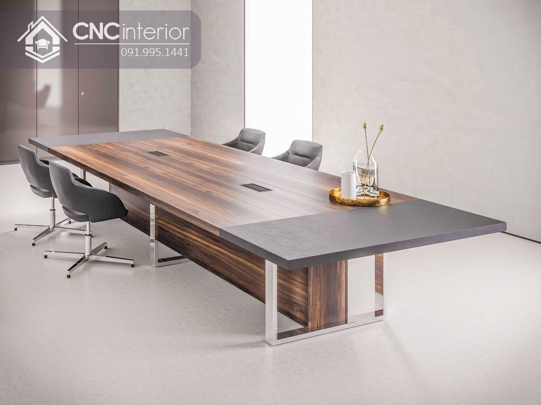 bàn họp lớn hiện đại sang trọng CNC 04 1