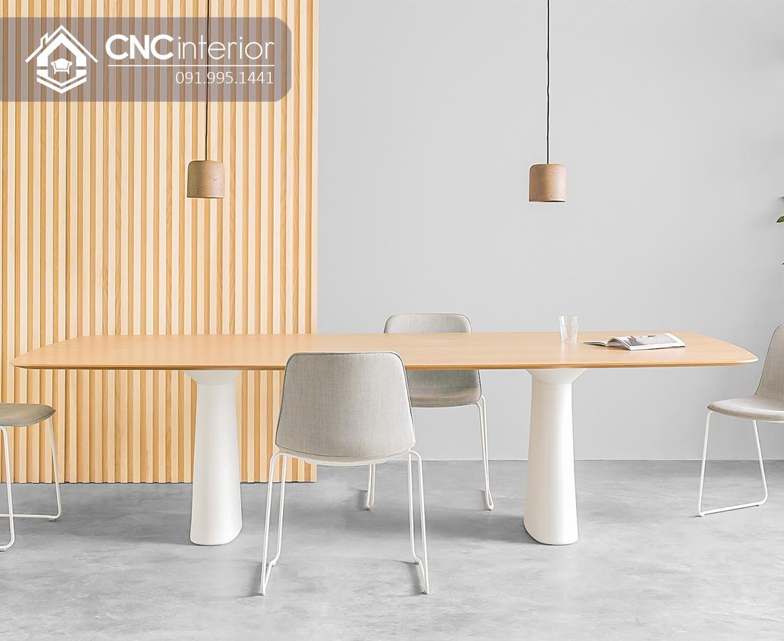 Bàn họp đẹp đơn giản CNC 11 2