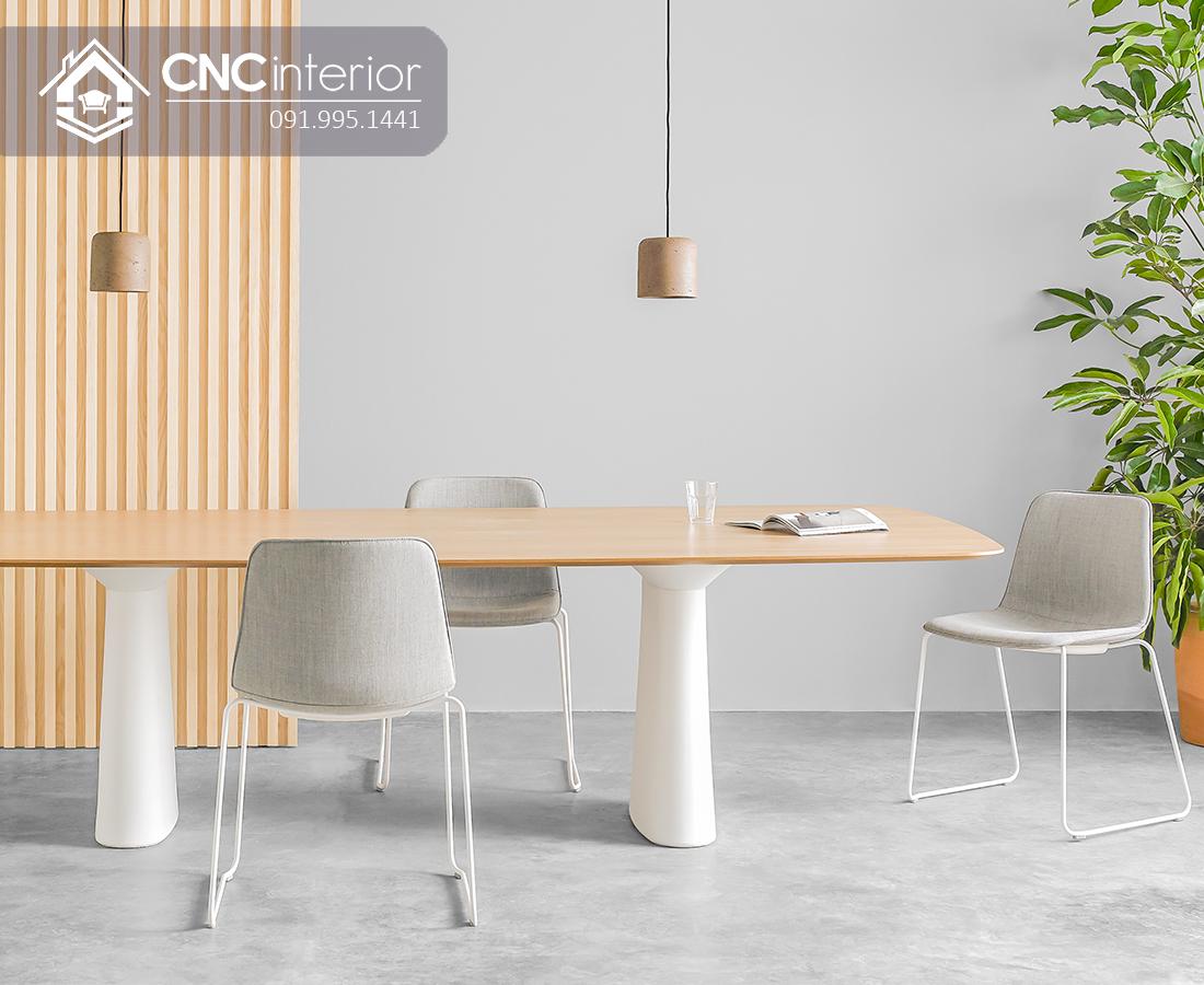 Bàn họp đẹp đơn giản CNC 11 3