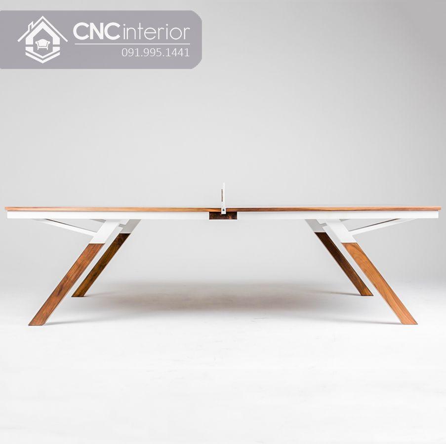 Bàn họp gỗ công nghiệp hiện đại CNC 24 5