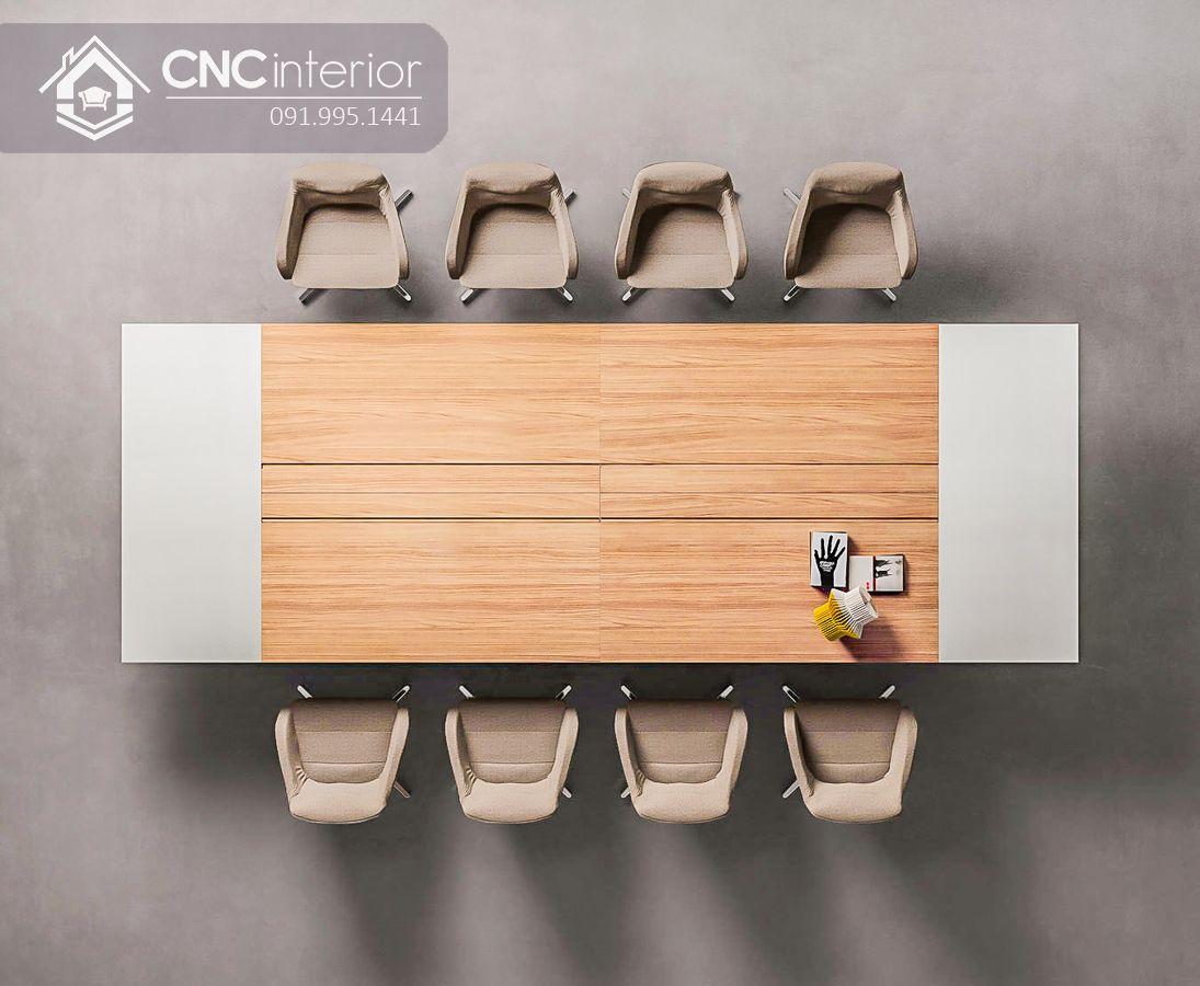 bàn họp lớn hiện đại sang trọng CNC 04 4