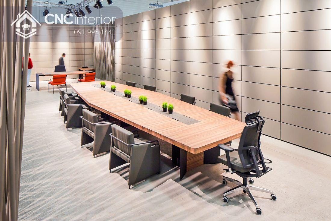 Bàn phòng họp lớn hiện đại CNC 07 1