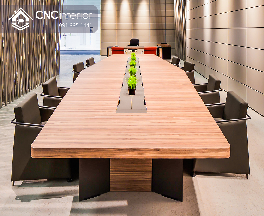 Bàn phòng họp lớn hiện đại CNC 07