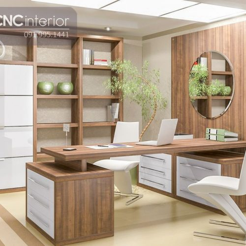Bàn làm việc giám đốc CNC 09