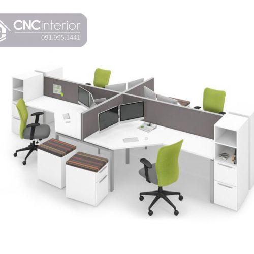 Bàn làm việc văn phòng CNC 01