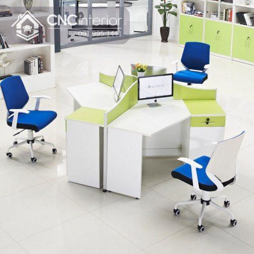 Bàn làm việc văn phòng CNC 10