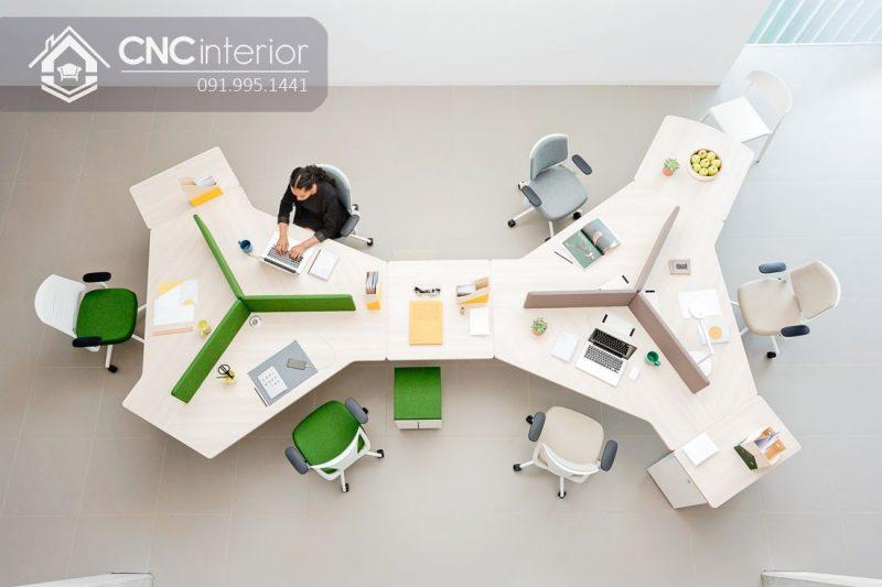 Bàn làm việc văn phòng CNC 15
